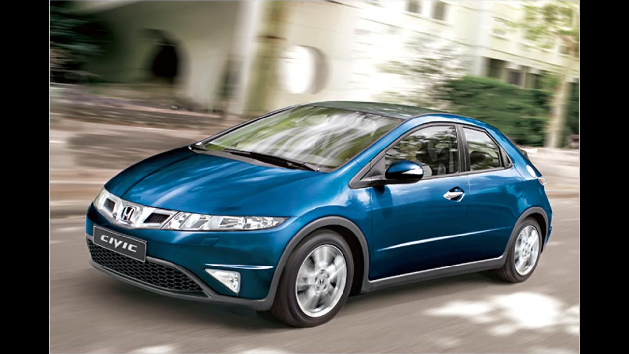 Kompaktklasse, 0 bis 50.000 Kilometer: Honda Civic (2011)