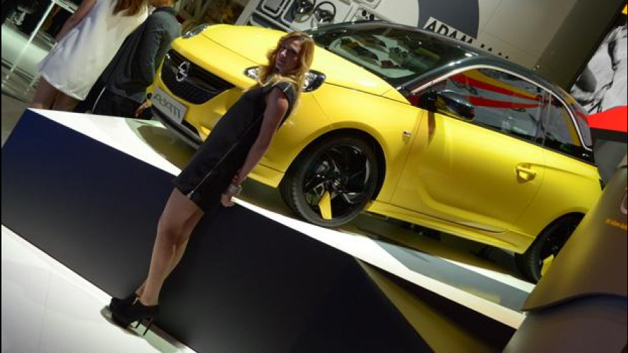 Motor Show 2012: Opel Adam, defilé emiliano