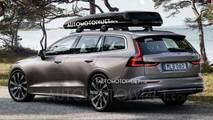 2019 Volvo V60 leaked photo