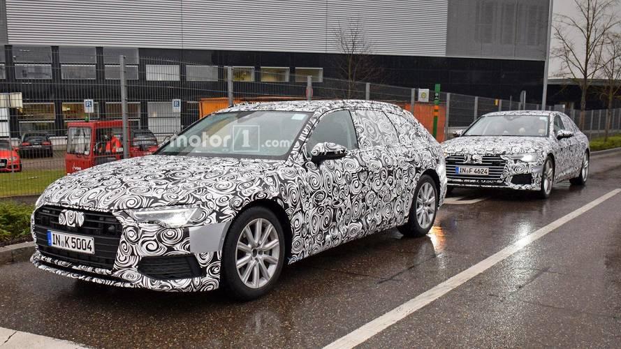 Photos espion - Audi A6 Avant
