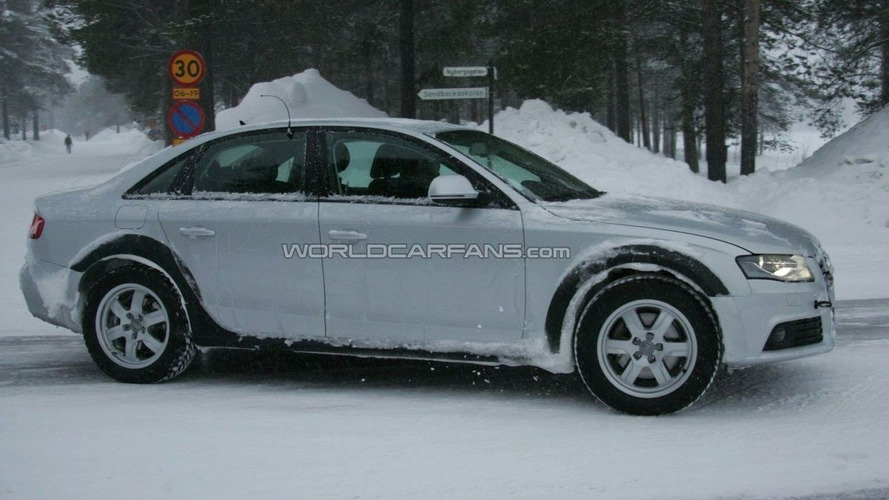 Audi A4 Allroad Spy Photos Out!