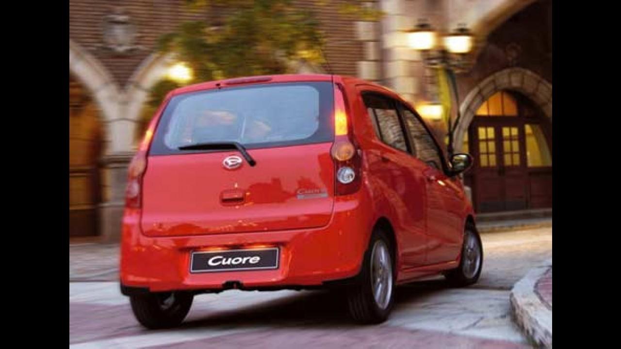 Conheça o novo Daihatsu Cuore 2008 - Moderno, inteligente e econômico
