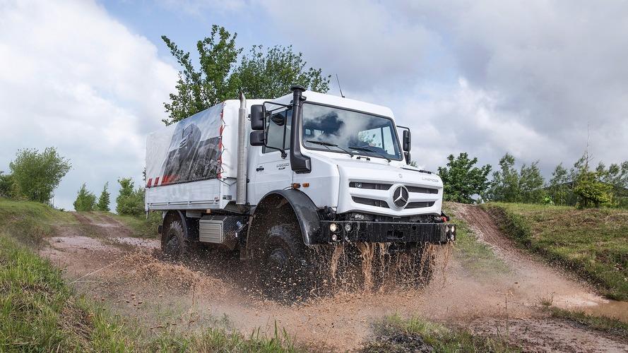 Mercedes Unimog 70 yaşında
