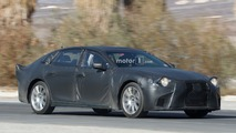 2018 Lexus LS Spy Photos