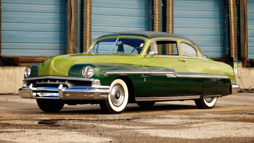 George Barris'in kişiselleştirdiği 1951 Lincoln Lido Coupe satışa sunuldu