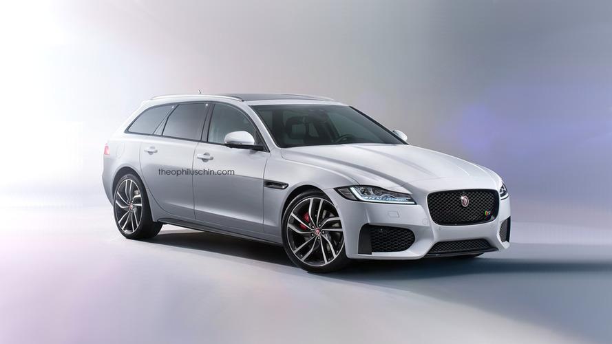 La nouvelle Jaguar XF Sportbrake confirmée pour 2017