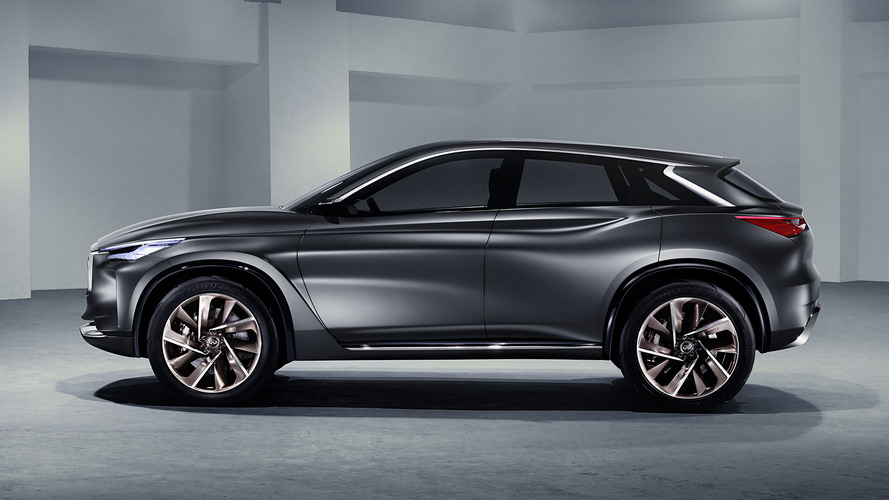 Infiniti QX Sport Inspiration concept restyled for Paris debut