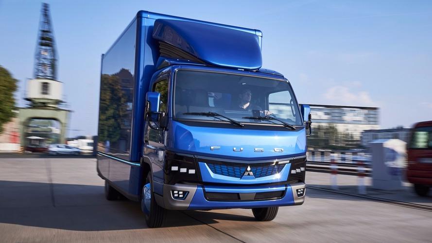 En yeni Fuso eCanter hafif ticari kamyon tanıtıldı