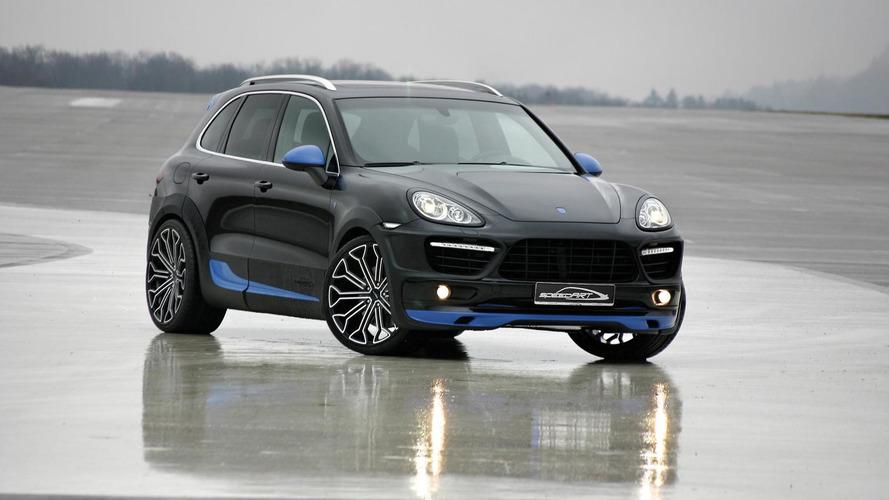 SpeedART TITAN-EVO-XL 600 based on Porsche Cayenne Turbo - new pics released