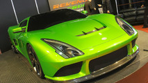 Revenge Verde Supercar at 2010 NAIAS