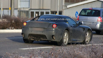 Ferrari Dino spy photos