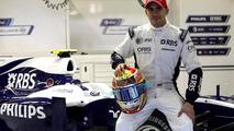 Pastor Maldonado, 2010 Formula One Young Driver Test.Yas Marina Circuit, Abu Dhabi, United Arab Emirates, 17.11.2010, Williams FW32 Cosworth