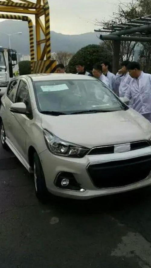 2016 Chevrolet Spark spied completely undisguised