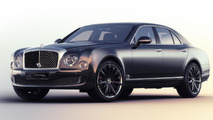Bentley Mulsanne Speed Blue Train special edition