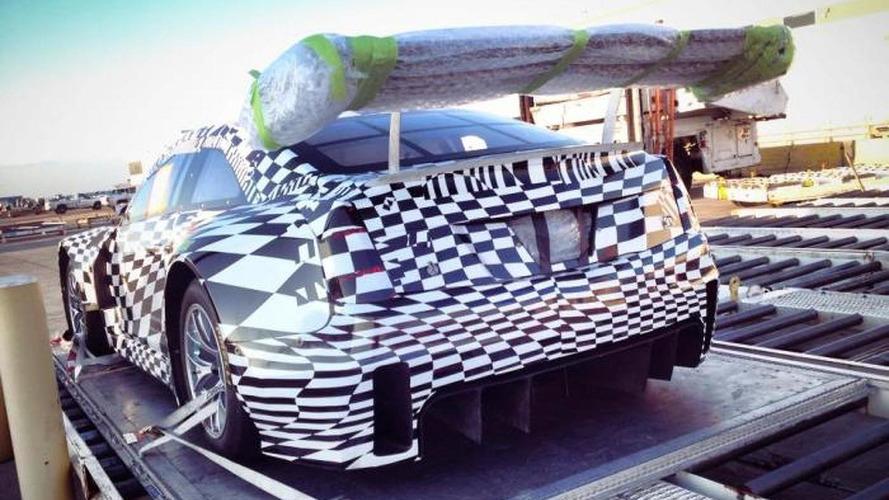 Cadillac ATS-V GT3 race car leaked