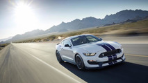 Ford highlights the suspension on the Shelby GT350 Mustang