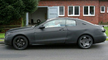 New Mercedes CLK Class spy photos