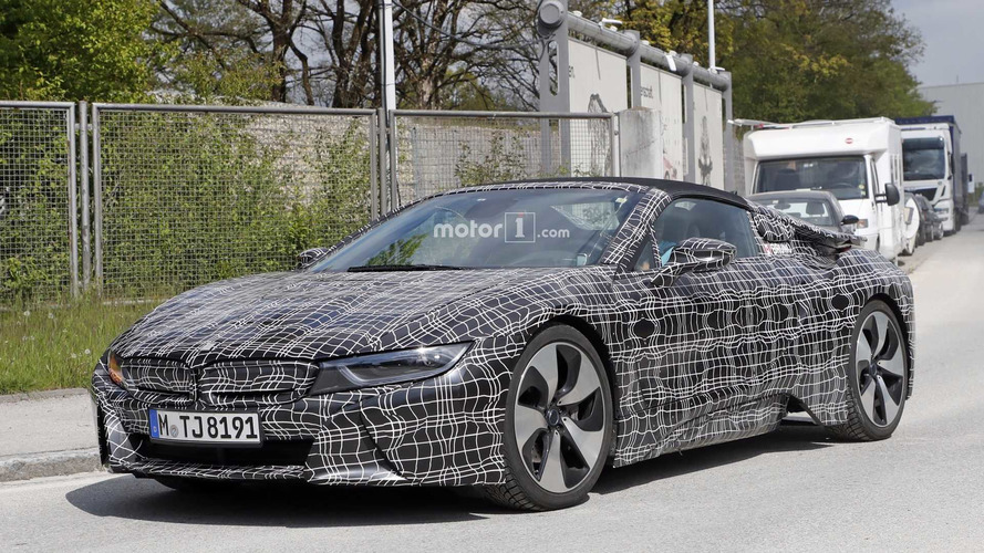 BMW i8 Roadster Could Have Twice The Electric Range Of i8 Coupe