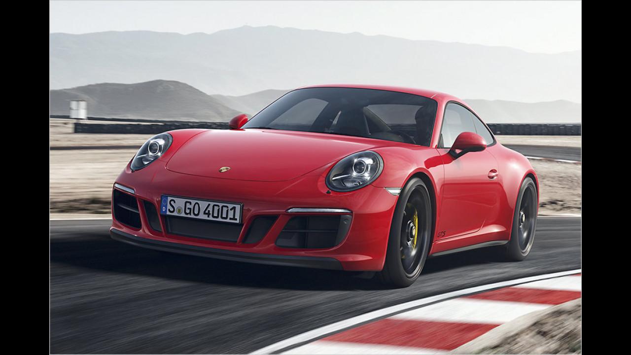Neue GTS-Modelle für die 911-Familie