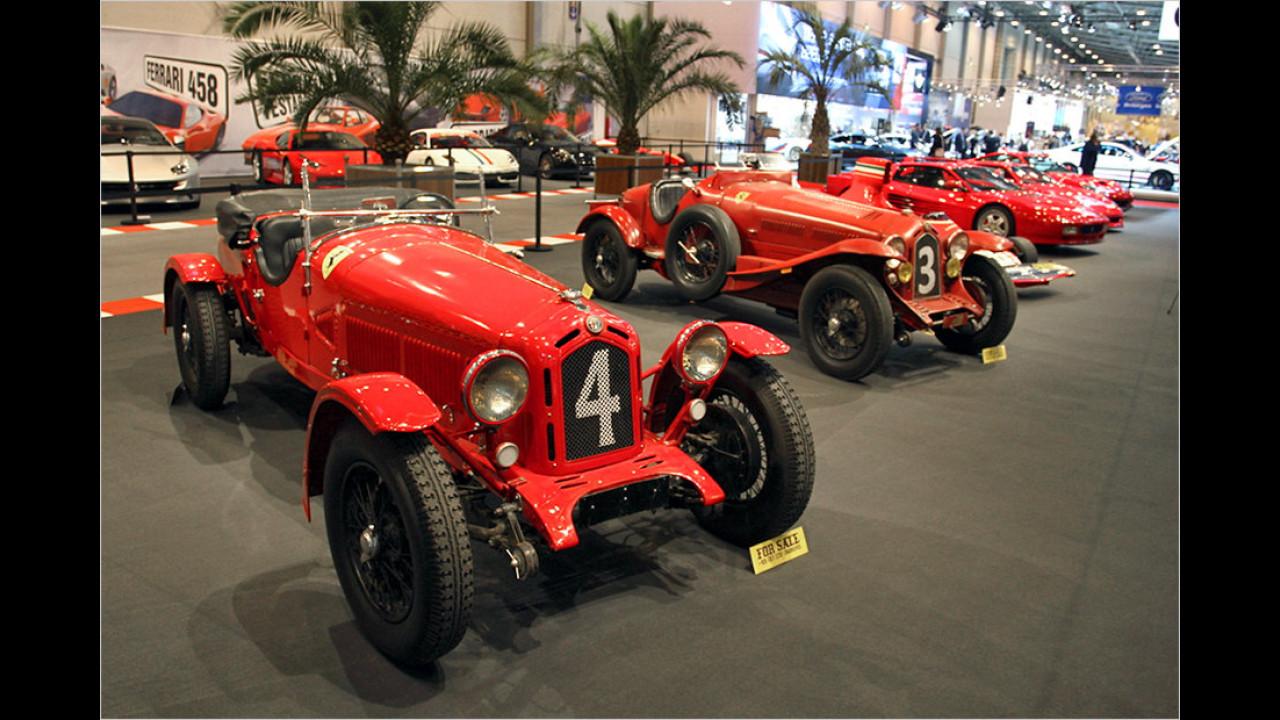 Sonderausstellung ,70 Jahre Ferrari