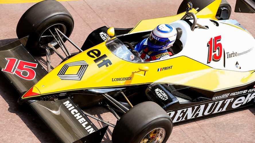 Prost reencontra Renault de 1983 em Mônaco