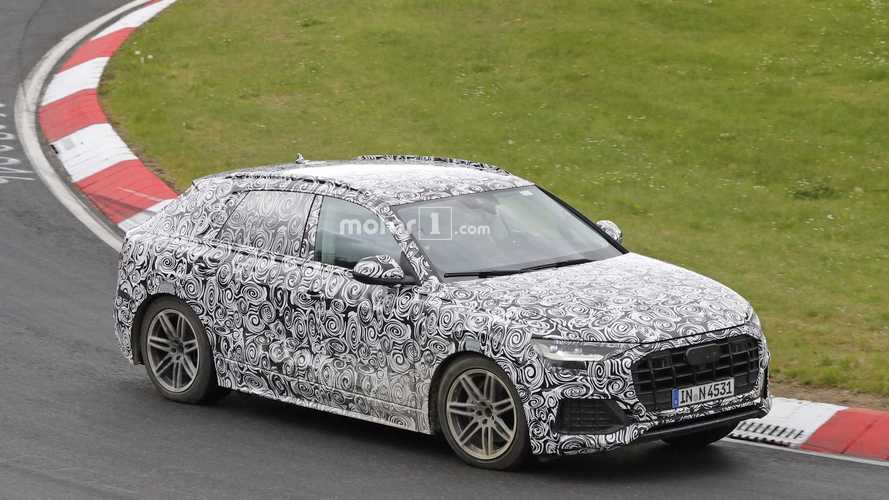 Watch The 2019 Audi Q8 Being Pushed Hard On The Nurburgring