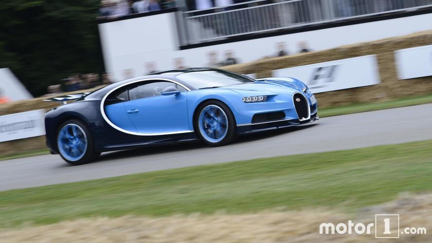 Bugatti Chiron at 2017 Goodwood