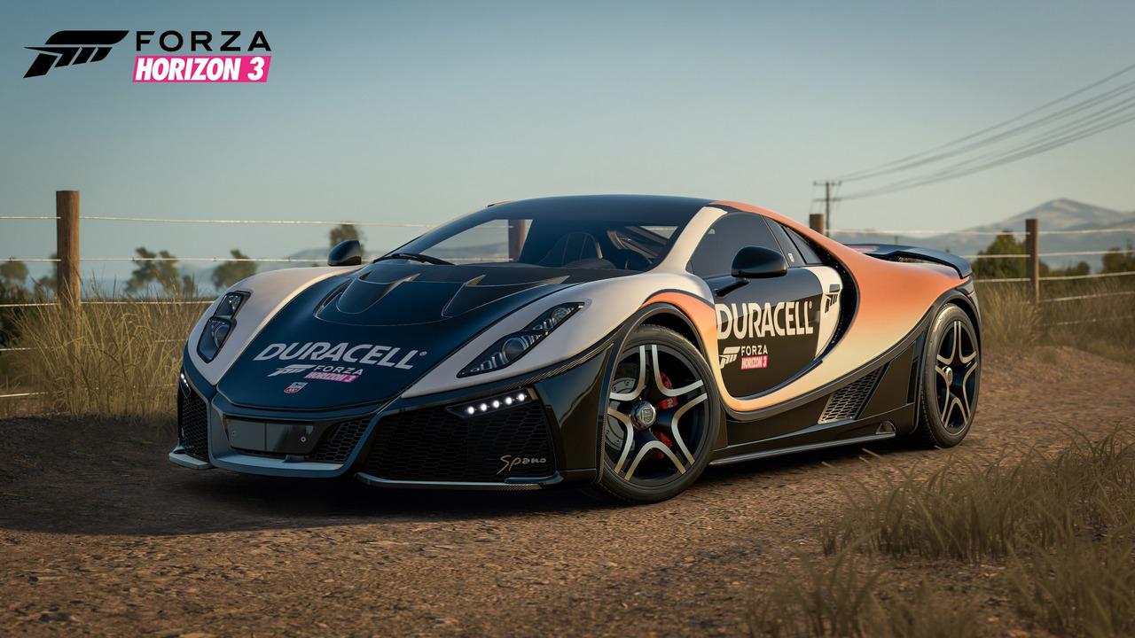Gta spano added to forza horizon 3 free of charge for Garage bmw horizon