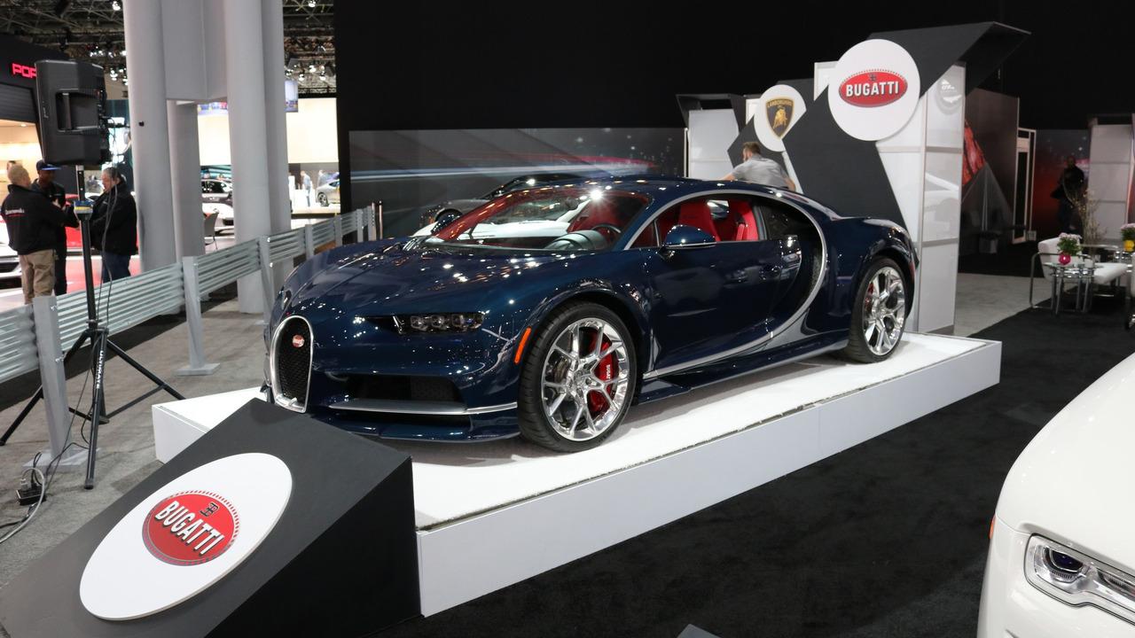 Bugatti Chiron - New York Auto Show