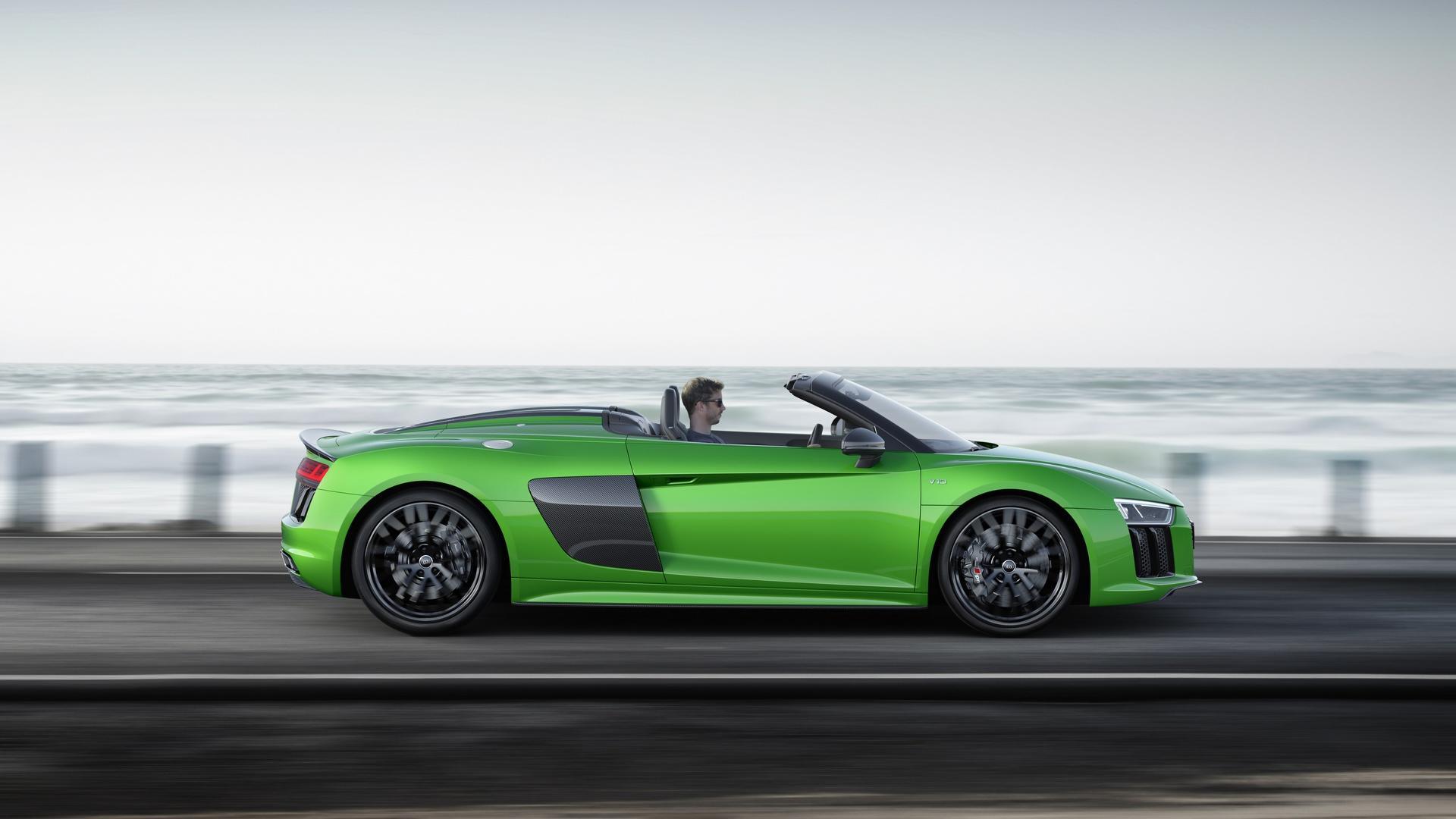大自然令我陶醉_「令人屏息的傳奇10缸引擎」見識Audi R8 V10 Plus如何突破時速333km/h ...