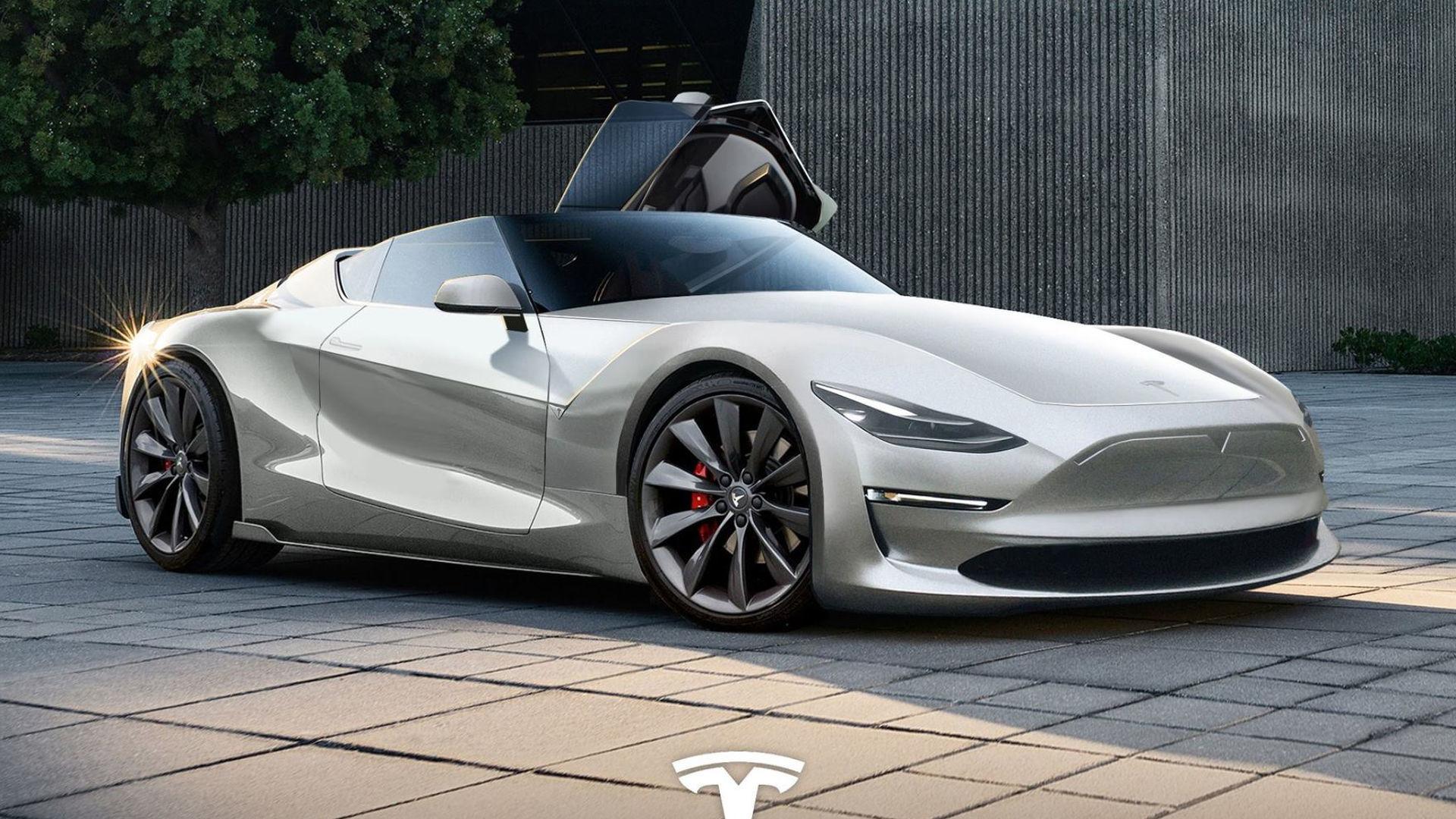 Tesla 2019 >> We Hope The 2019 Tesla Roadster Looks This Good