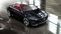 Mercedes A-Class Cabriolet render based on Concept A Sedan