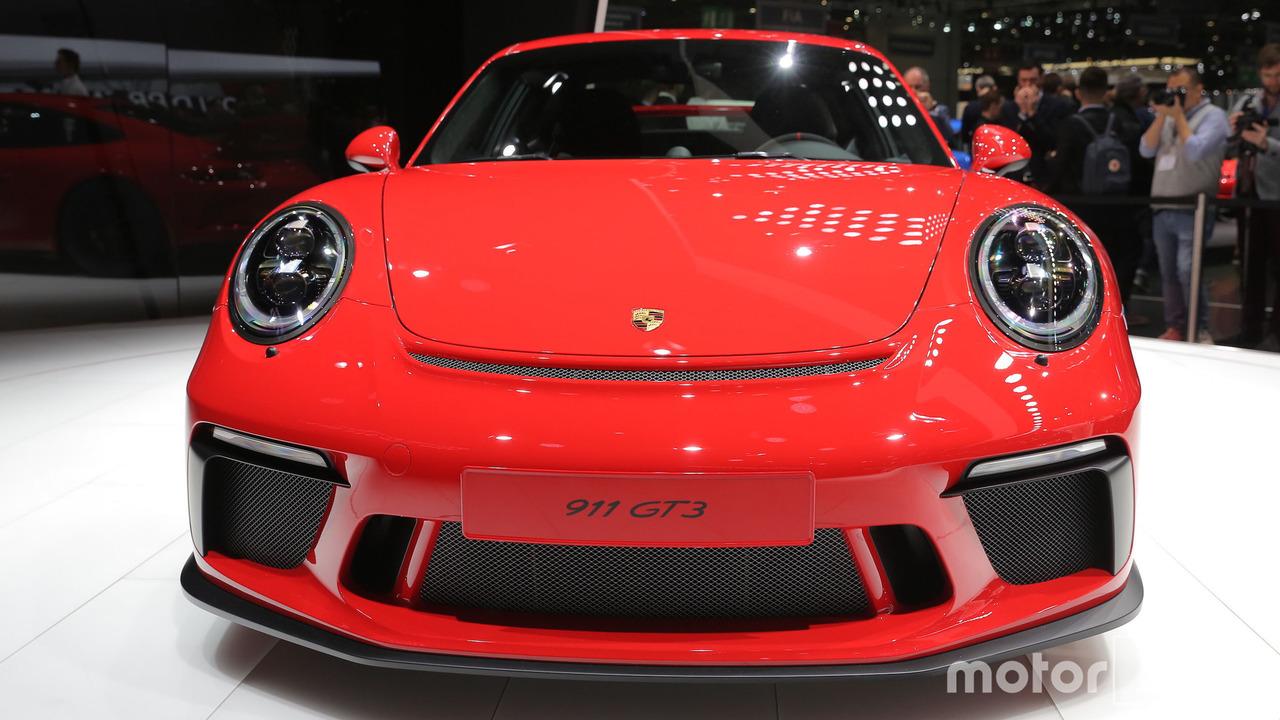 2018 Porsche 911 GT3 photos live Geneva