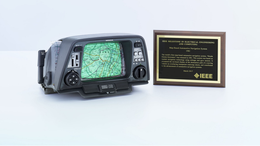 Honda praised for its Electro Gyrocator, first map-based nav system