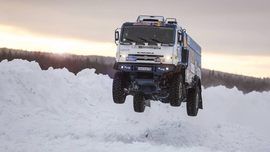 Rus Kamaz kamyonu hiç böyle görmediniz!