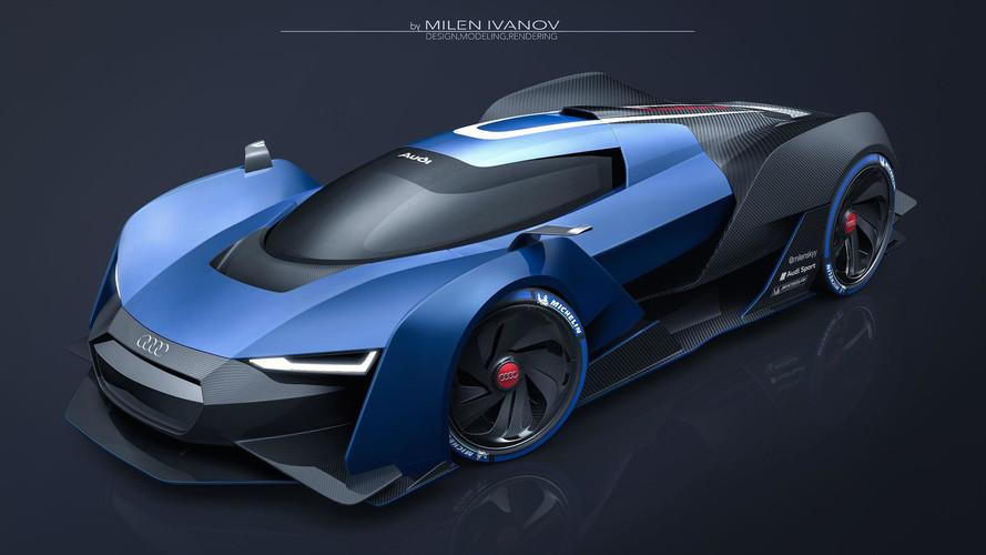 Az Audi akár egy ilyen modellel is beléphetne a hiperautók piacára
