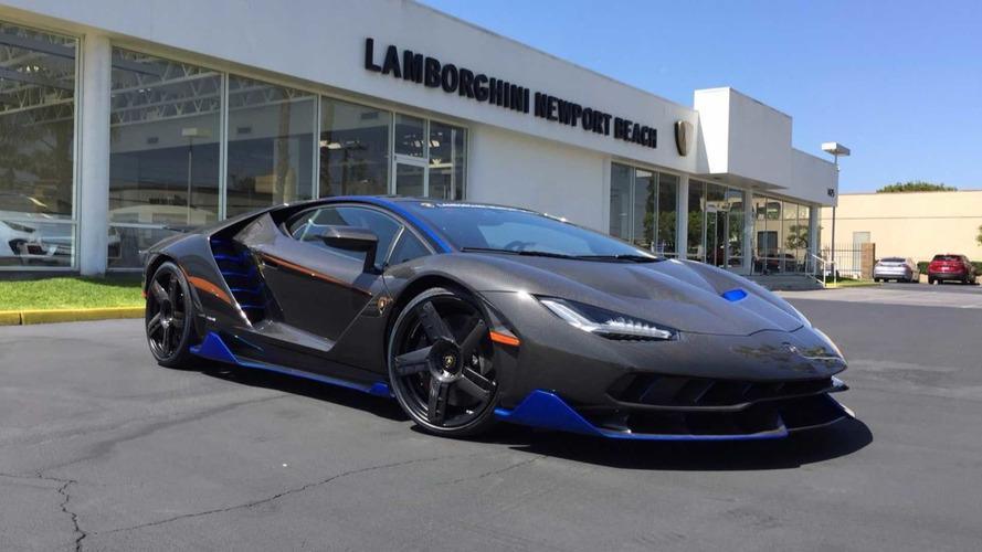 Lamborghini Centenario en Amérique