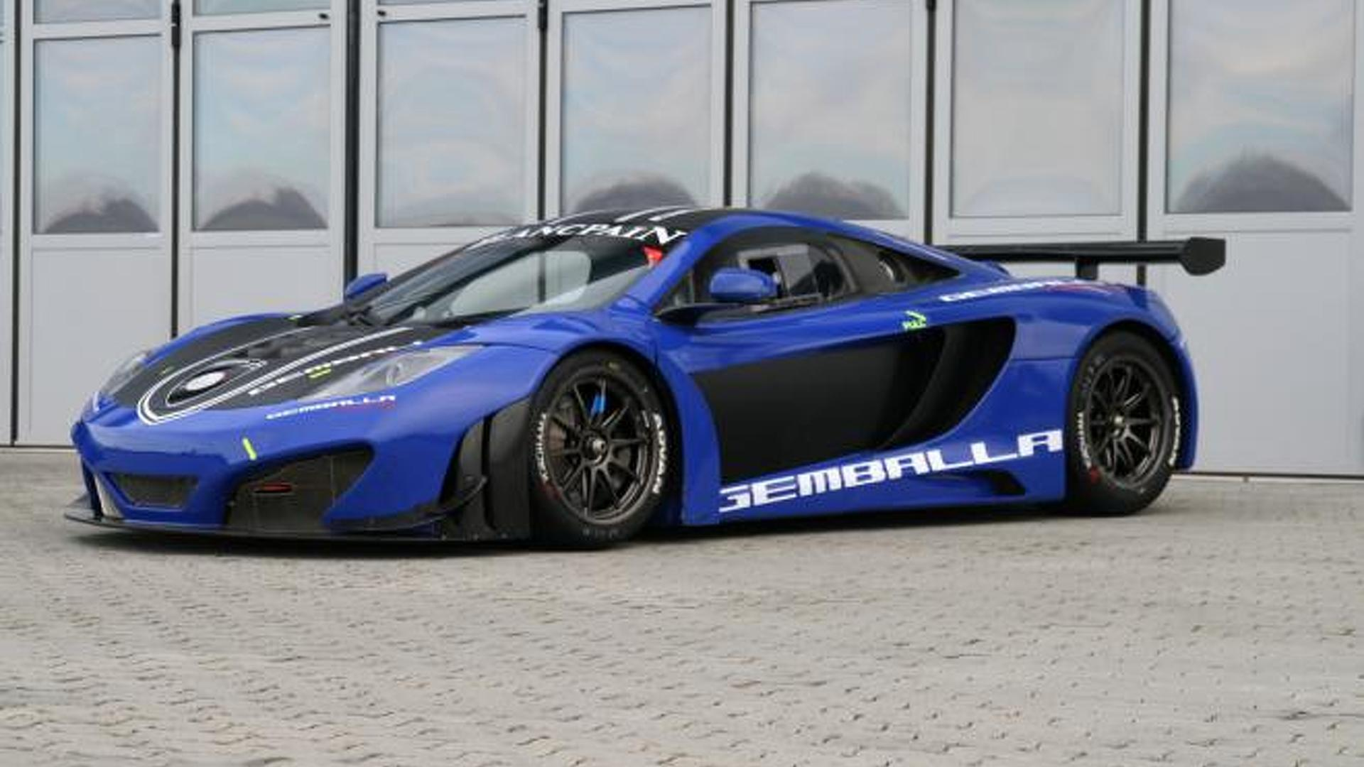 2012 McLaren MP4-12C GT3 by Gemballa Racing up for sale