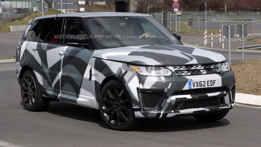 Range Rover Sport RS and Evoque RS spotted at the 'Ring [video]