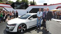 Volkswagen Design Vision GTI concept live at Wörthersee 2013 09.5.2013