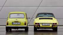 Classic MINI and Porsche 911 06.06.2013