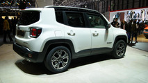 2015 Jeep Renegade live in Geneva