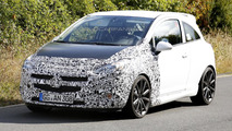 2014 Opel Corsa OPC facelift spy photo 13.09.2013