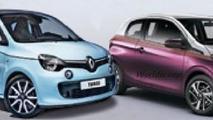 2014 Renault Twingo and Peugeot 108