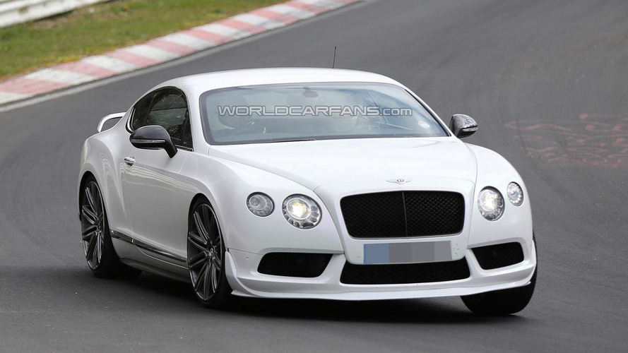 Possible Bentley Continental GT V8 RS spied again