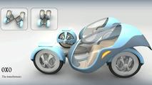 Peugeot 'OXO' by Lou Ke