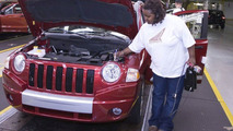 Final touches on Jeep Compass