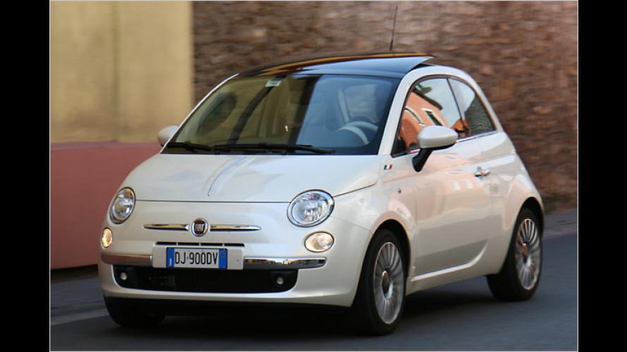 Italienisches Lebensgefühl: Benvenuto, Fiat Cinquecento