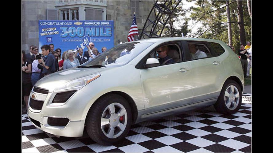 GM setzt Meilenstein für Fahrzeuge mit Wasserstoff-Antrieb