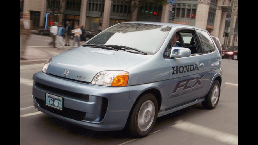 Honda: Fortschritt bei der Brennstoffzelle